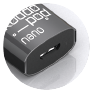 Le koddopod est rechargeable par port USB.